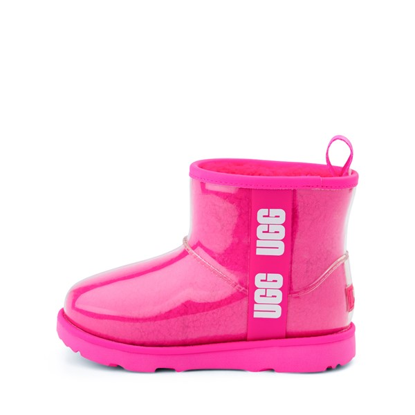 alternate image alternate view UGG® Classic Clear Mini II Boot - Toddler / Little Kid / Big Kid - Rock RoseALT1