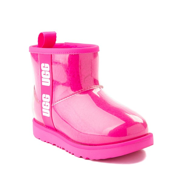 alternate image alternate view UGG® Classic Clear Mini II Boot - Toddler / Little Kid / Big Kid - Rock RoseALT5