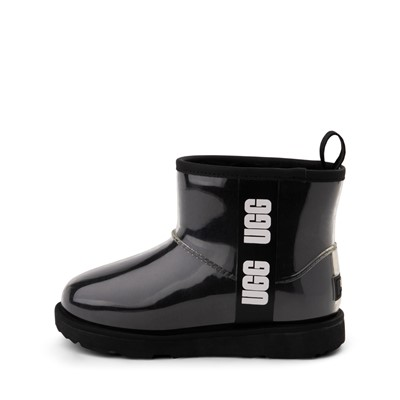 Alternate view of UGG® Classic Clear Mini II Boot - Toddler / Little Kid / Big Kid - Black