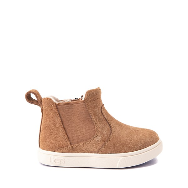 Main view of UGG® Hamden II Chelsea Boot - Toddler / Little Kid - Chestnut