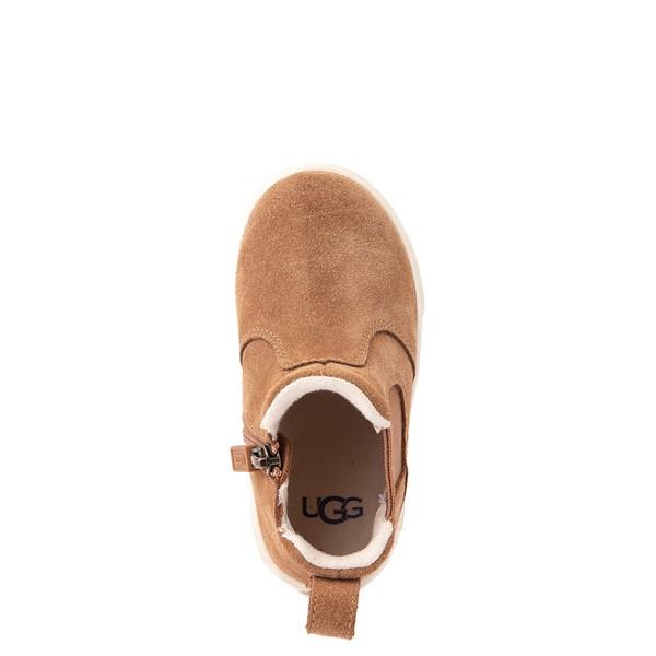 alternate image alternate view UGG® Hamden II Chelsea Boot - Toddler / Little Kid - ChestnutALT4B