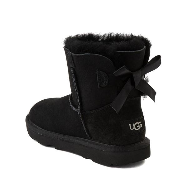 alternate image alternate view UGG® Mini Bailey Bow II Boot - Little Kid / Big Kid - BlackALT1