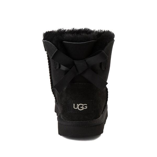 alternate image alternate view UGG® Mini Bailey Bow II Boot - Little Kid / Big Kid - BlackALT4