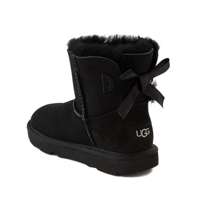 Alternate view of UGG® Mini Bailey Bow II Boot - Little Kid / Big Kid - Black