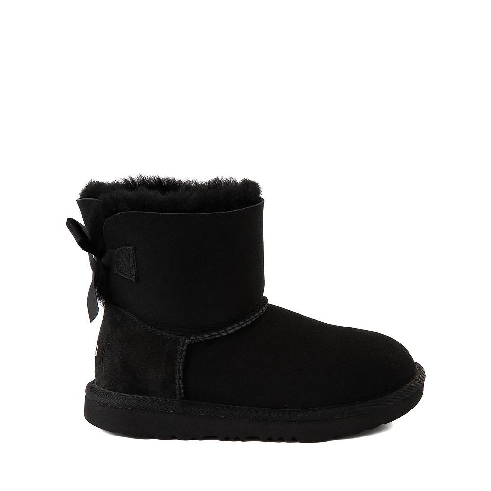 UGG® Mini Bailey Bow II Boot - Little Kid / Big Kid - Black