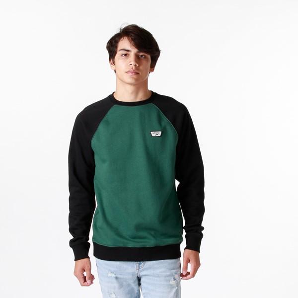 Mens Vans Rutland III Crew Sweatshirt - Pine / Black
