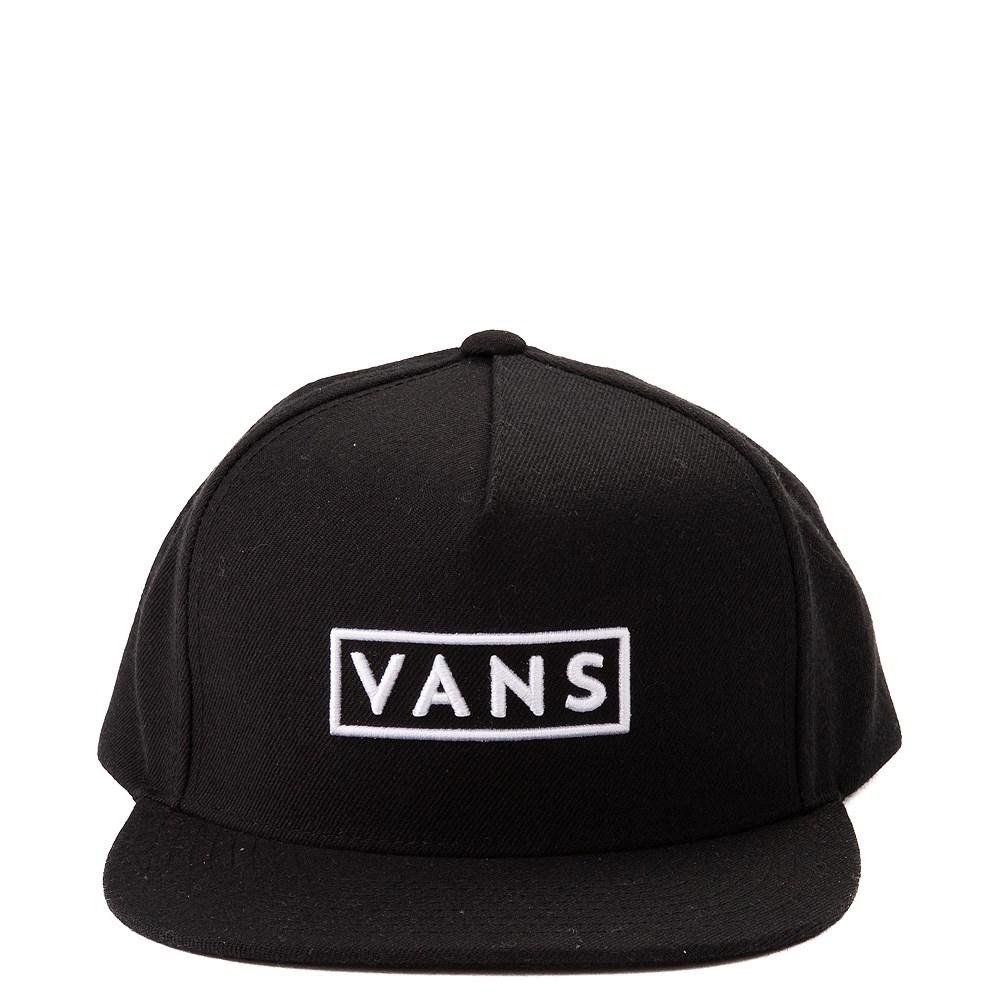 Vans Easy Box Snapback Hat - Black