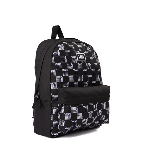 alternate image alternate view Vans Old Skool Word Checkerboard Backpack - Black / WhiteALT4B