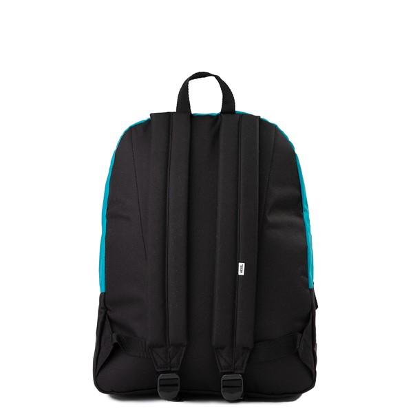 alternate image alternate view Vans Color-Block Realm Backpack - Black / Blue / PinkALT2