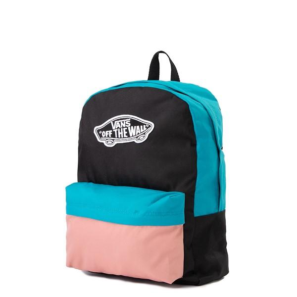alternate image alternate view Vans Color-Block Realm Backpack - Black / Blue / PinkALT4