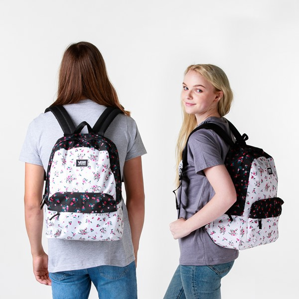 alternate image alternate view Vans Realm Backpack - Beauty FloralALT1BADULT