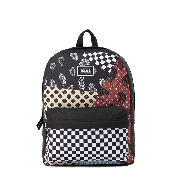 Main view of Vans Realm Backpack - Floral Patchwork