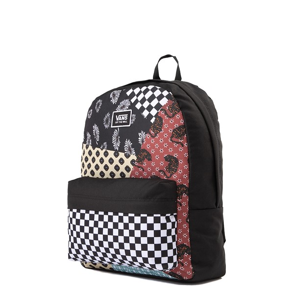 alternate image alternate view Vans Realm Backpack - Floral PatchworkALT4