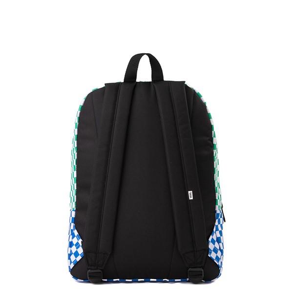 alternate image alternate view Vans Color-Block Checkerboard Realm Backpack - MulticolorALT2
