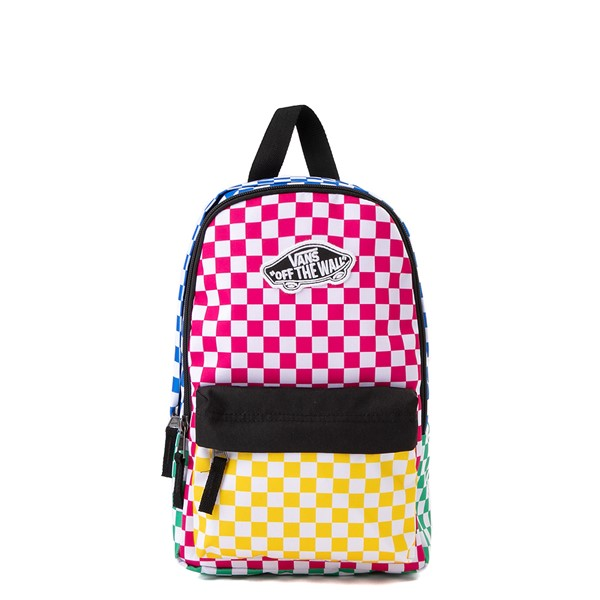 Main view of Vans Bounds Checkerboard Mini Backpack - Multicolor