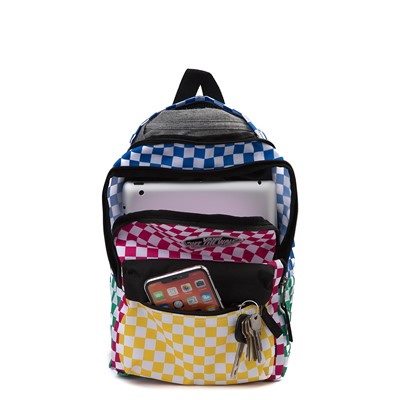Alternate view of Vans Bounds Checkerboard Mini Backpack - Multicolor