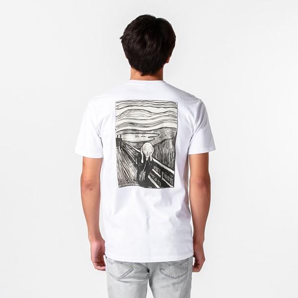 Main view of Mens Vans x MoMA Edvard Munch Tee - White