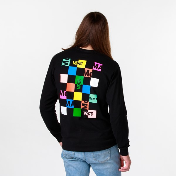 Mens Vans x MoMA Long Sleeve Tee - Black / Multicolor