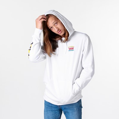Alternate view of Mens Vans x The Simpsons Family Hoodie - White
