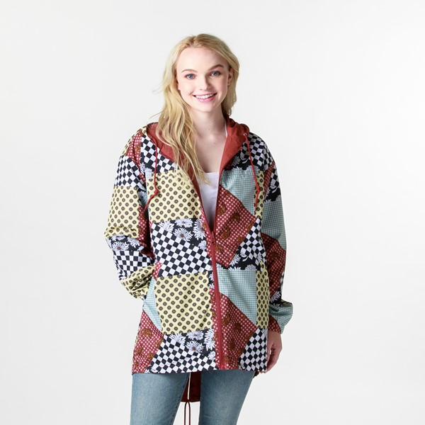 Womens Vans Mercy Reversible Jacket - Multicolor