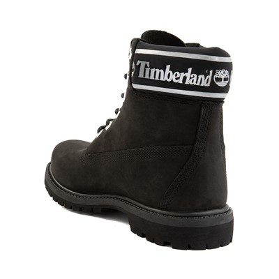 "Alternate view of Womens Timberland 6"" Premium Metallic Collar Boot - Black"