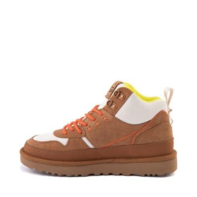 Alternate view of Womens UGG® Highland Hi Heritage Sneaker - Chestnut