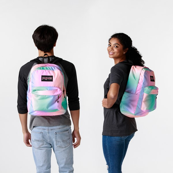 alternate image alternate view JanSport Superbreak Plus Backpack - Pastel OmbreALT1BADULT