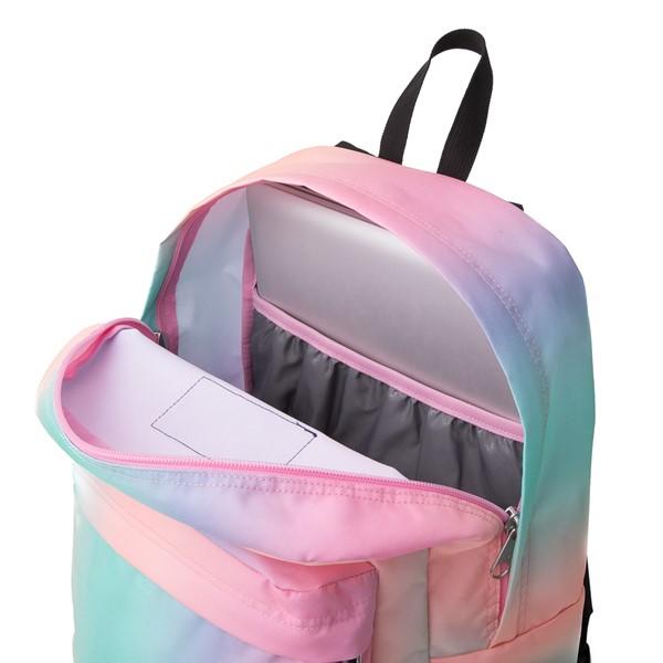 alternate image alternate view JanSport Superbreak Plus Backpack - Pastel OmbreALT3