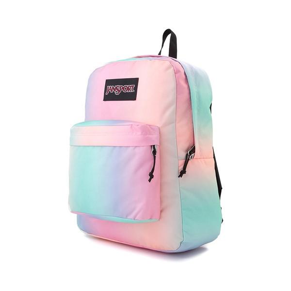 alternate image alternate view JanSport Superbreak Plus Backpack - Pastel OmbreALT4
