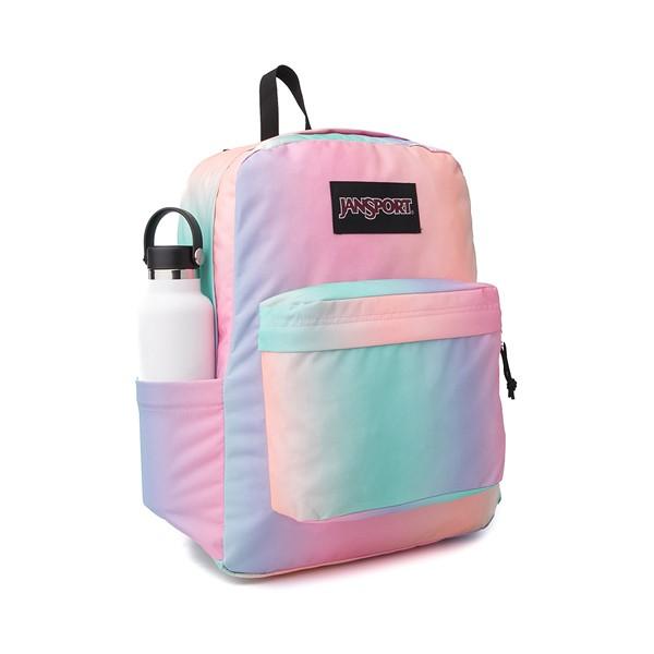 alternate image alternate view JanSport Superbreak Plus Backpack - Pastel OmbreALT4B