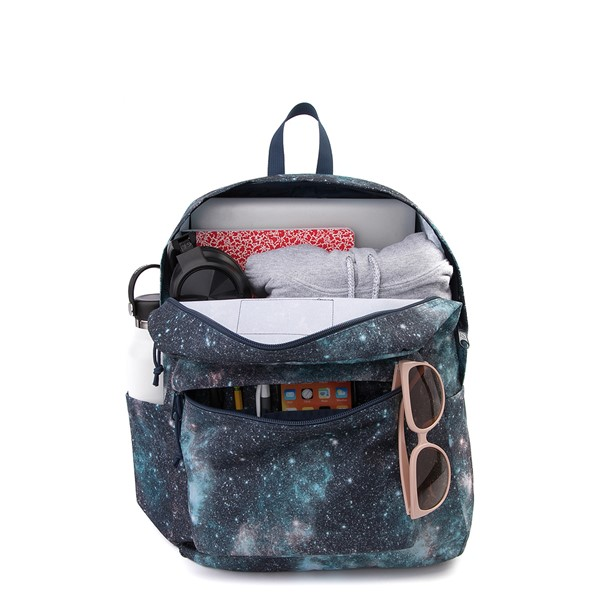 alternate image alternate view JanSport Superbreak Plus Backpack - Galactic OdysseyALT1