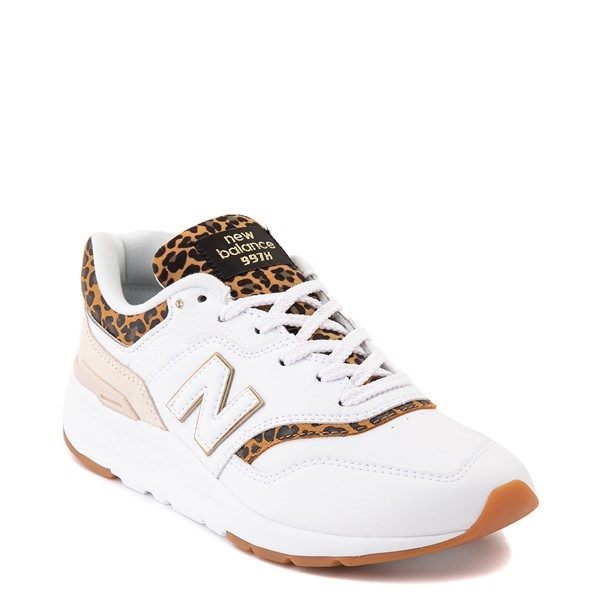 alternate image alternate view Womens New Balance 997H Athletic Shoe - White / LeopardALT5