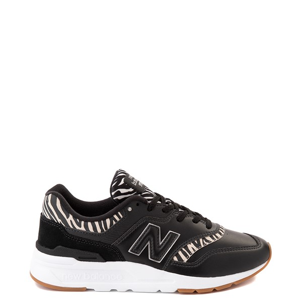 Main view of Womens New Balance 997H Athletic Shoe - Black / Zebra
