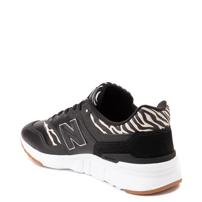 Alternate view of Womens New Balance 997H Athletic Shoe - Black / Zebra