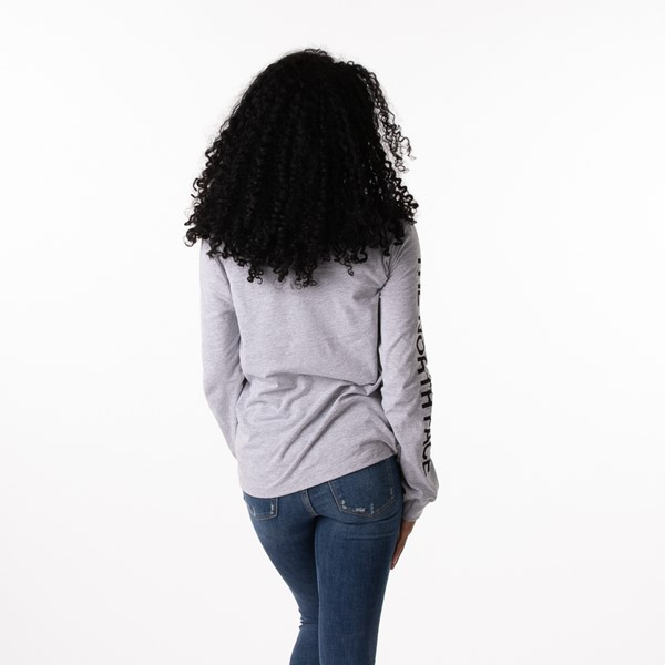 alternate image alternate view Womens The North Face Brand Proud Long Sleeve Tee - GreyALT1