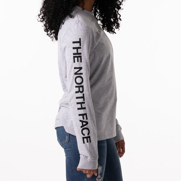 alternate image alternate view Womens The North Face Brand Proud Long Sleeve Tee - GreyALT2B