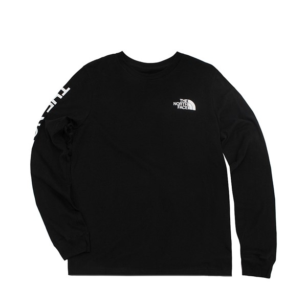 Womens The North Face Brand Proud Long Sleeve Tee - Black