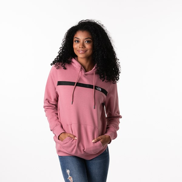 Main view of Womens The North Face Edge To Edge Hoodie - Mesa Rose