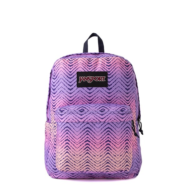 JanSport Superbreak Plus Backpack - Chevron Fade
