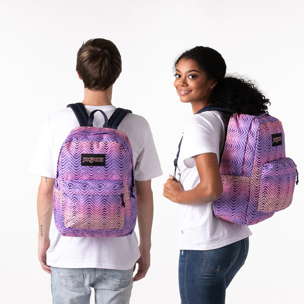 alternate image alternate view JanSport Superbreak Plus Backpack - Chevron FadeALT1BADULT