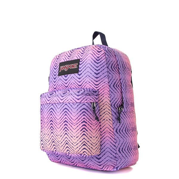alternate image alternate view JanSport Superbreak Plus Backpack - Chevron FadeALT4