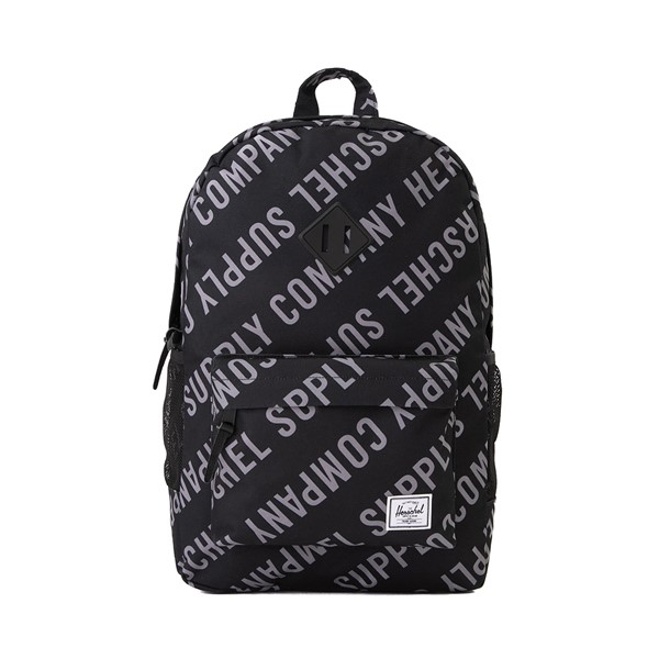 Main view of Herschel Supply Co. Heritage Backpack - Black / Roll Call