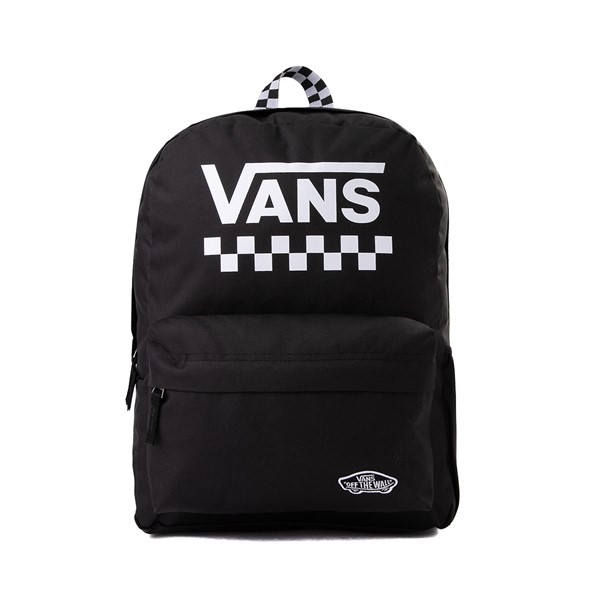 Main view of Vans Street Sporty Realm Backpack - Black / White