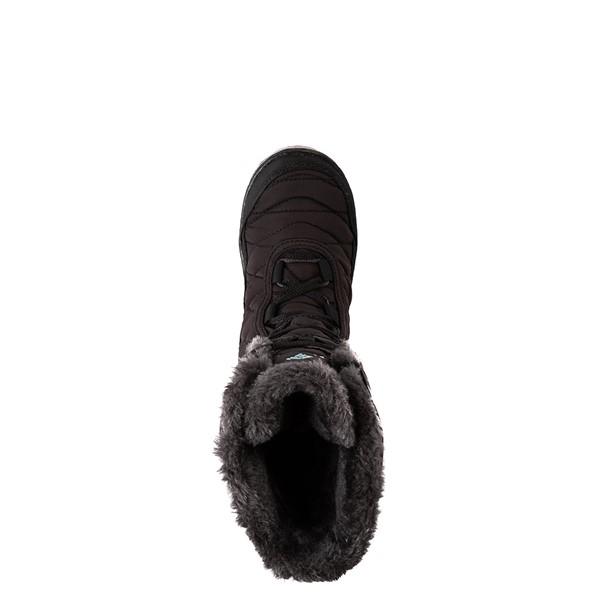 alternate image alternate view Columbia Minx™ Mid III Waterproof Omni-Heat™ Boot - Little Kid / Big Kid - BlackALT2