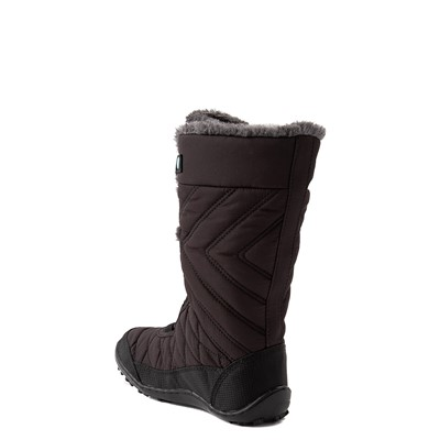 Alternate view of Columbia Minx™ Mid III Waterproof Omni-Heat™ Boot - Little Kid / Big Kid - Black