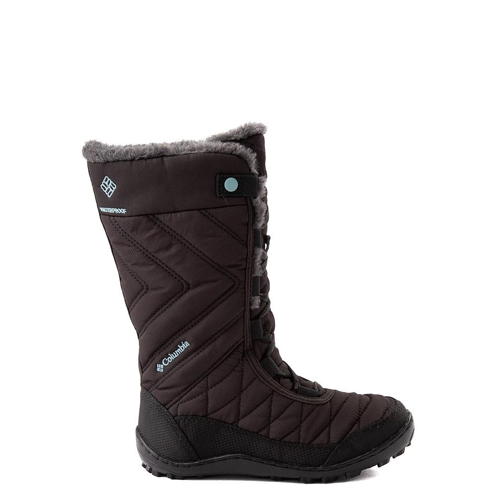 Columbia Minx™ Mid III Waterproof Omni-Heat™ Boot - Little Kid / Big Kid - Black