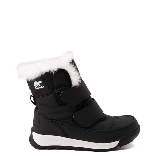 Main view of Sorel Whitney™ Strap Boot - Toddler / Little Kid - Black
