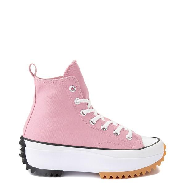 Main view of Converse Run Star Hike Platform Sneaker - Lotus Pink / Black / Gum