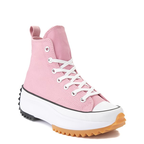 alternate image alternate view Converse Run Star Hike Platform Sneaker - Lotus Pink / Black / GumALT5