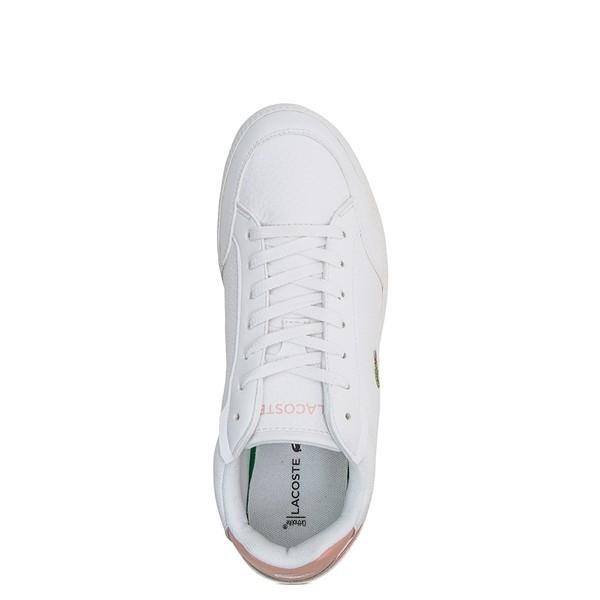 alternate image alternate view Womens Lacoste Graduate Athletic Shoe - White / Light PinkALT2